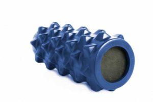 Валик для фитнеса массажный, синий