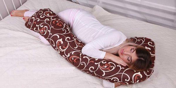 Подушка для отдыха L-образная