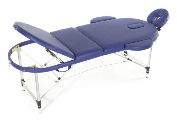 Массажный стол складной алюминиевый JFAL03 М/К (3-х секционный) (МСТ-3310ВЛ)