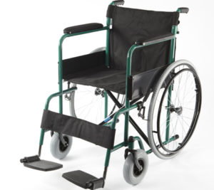 Кресло-коляска стальная Barry B2 U (1618C0102SPU)