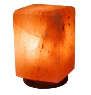 Солевая лампа Куб