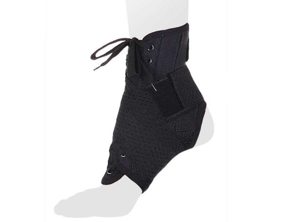 Бандаж на голеностопный сустав со шнуровкой и ребрами жесткости AS - ST/M