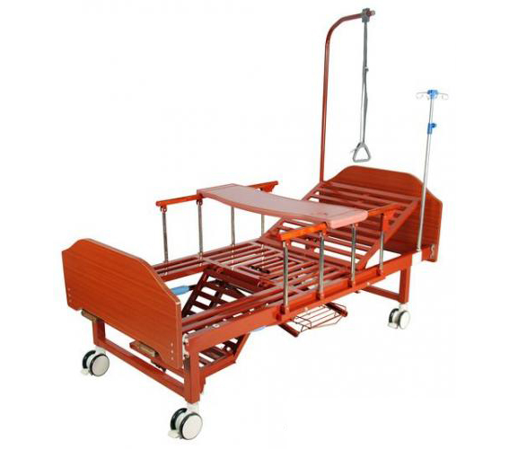 Кровать медицинская механическая  YG -6 (MM-2124Н-12)