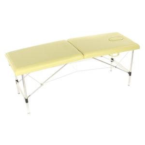 Массажный стол складной алюминиевый JFAL01-F (МСТ-321ОЛ) 2-х секционный