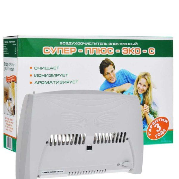 Воздухоочиститель ионизатор воздуха Супер плюс Эко-С