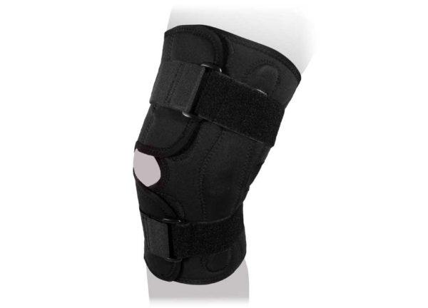 Ортез на коленный сустав разъемный с полицентрическими шарнирами KS-050 (Ti-227)