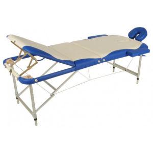 Массажный стол складной алюминиевый JFAL03 (МСТ-27) (3-х секционный)