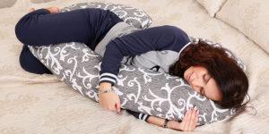 Подушка для отдыха С-образная