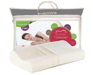 Подушка ортопедическая с эффектом памяти Luomma F 501