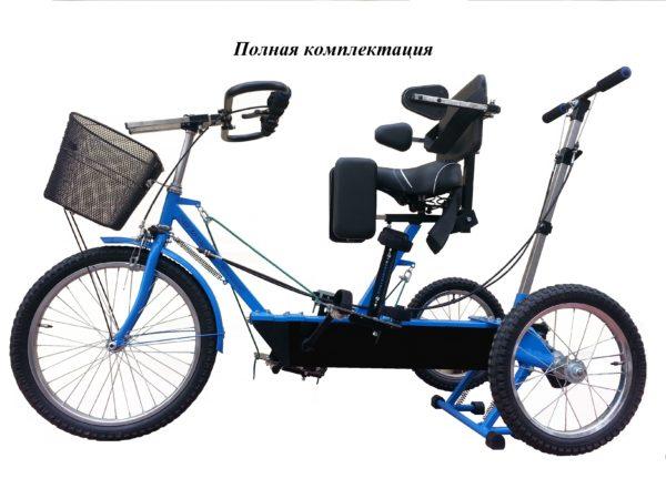 Велотренажер для детей с ДЦП Ангел-Соло 3.