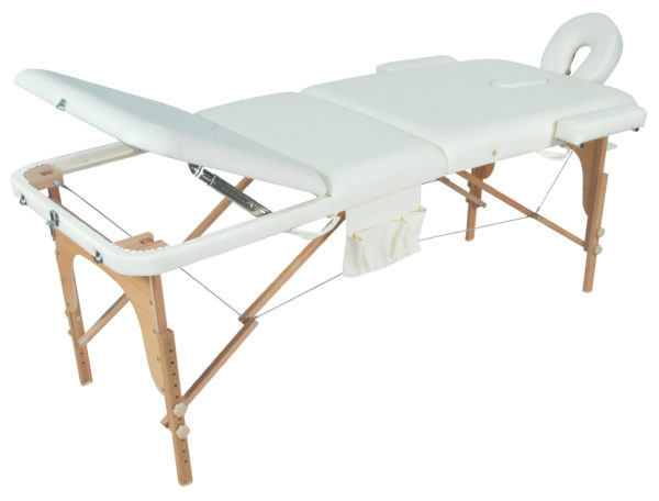 Массажный стол складной деревянный JF-AY01 (PW3.20.12A) 3-х секционный М/К
