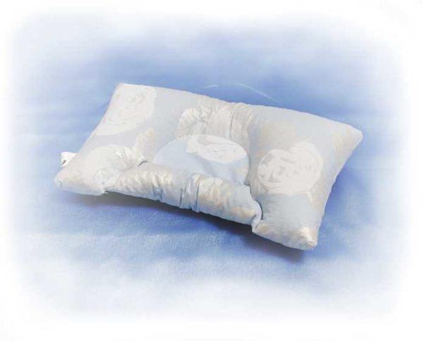 Подушка детская МИНИ с наполнением лепестками гречневой лузги