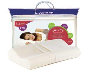 Ортопедическая подушка с эффектом памяти Luomma F 509