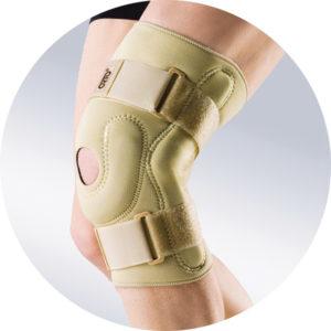 Ортез на коленный сустав с металлическими шарнирами