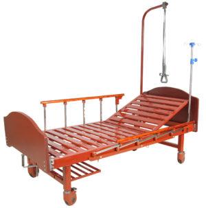 Кровать медицинская механическая  E-17B ММ-1024Н-00 ЛДСП