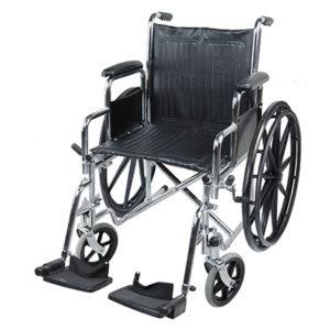 Кресло-коляска стальная Barry B7 (1618C0303S)