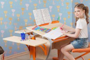 парта для школьника домашняя