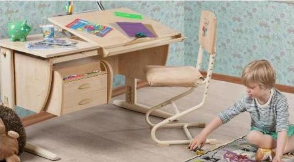 Каким должен быть письменный стол для школьника