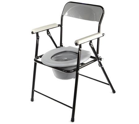 Складное кресло-туалет для пожилых людей