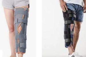 жесткие фиксаторы коленного сустава
