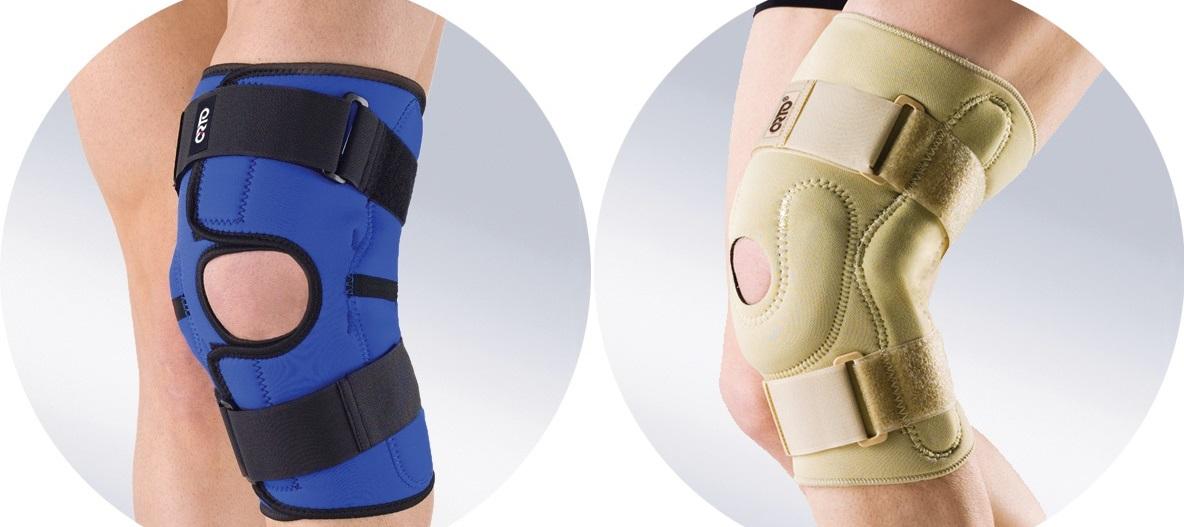 Ортез на коленный сустав — как выбрать, где купить